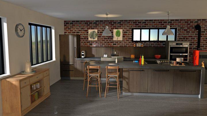 Mała kuchnia w mieszkaniu – jak ją urządzić? Cz.2