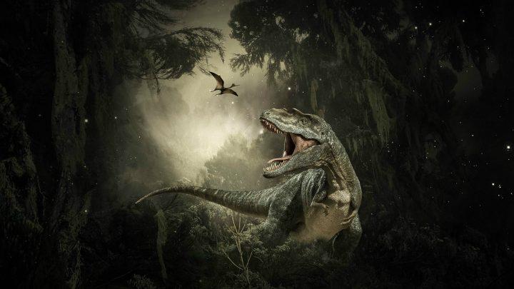 Puzzle dla dzieci – dinozaur – 6 elementów