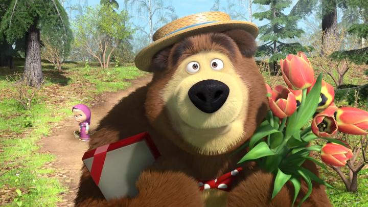 Masza i Niedźwiedź odcinek 7 – Wiosna przyszła!
