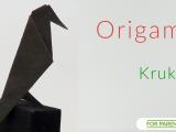 Origami kruk bez klejenia proste tradycyjne origami