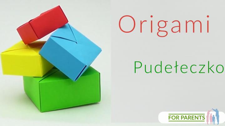 Origami pudełko bez klejenia [Senbazuru]⭐ proste origami z jednej kartki🎨