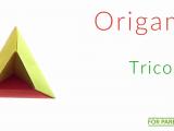 Origami tricon łatwe origami modułowe