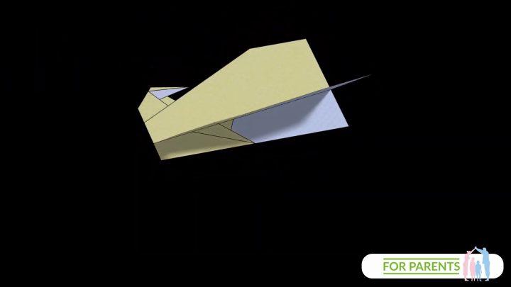 Jak zrobić samolot z papieru? Falcon – Sokół