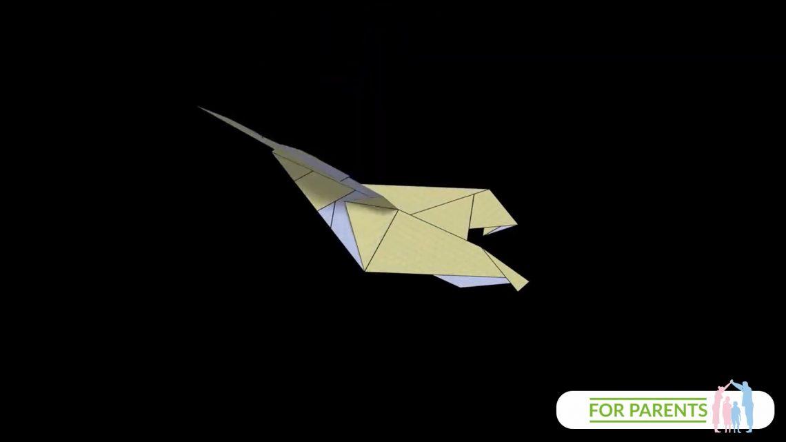 Jak zrobić samolot z papieru? Eagle – Orzeł