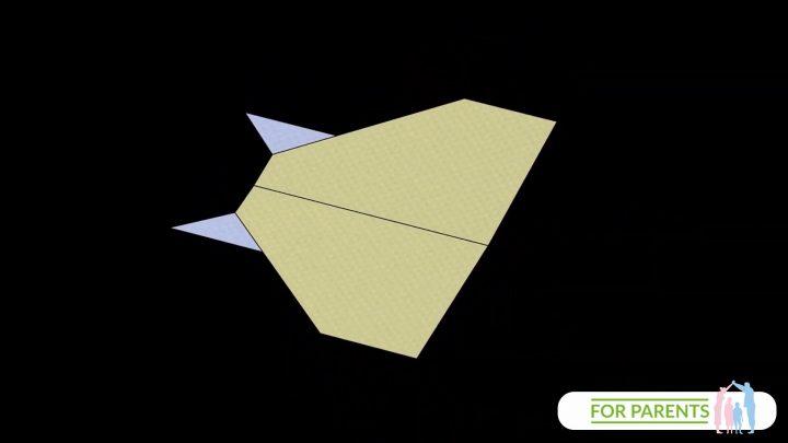 Jak zrobić samolot z papieru? Manta Ray – Płaszczka