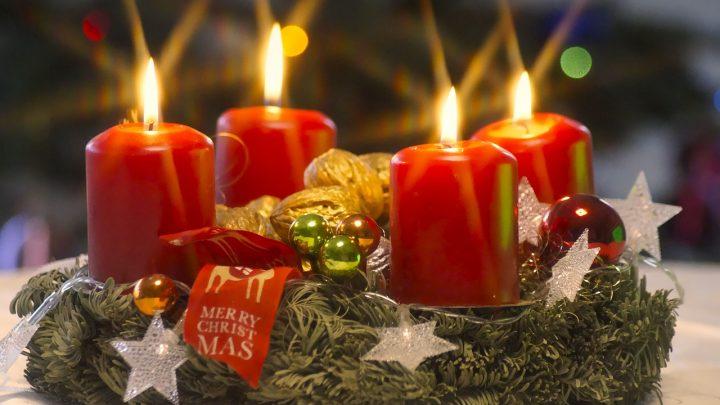 Stroiki na Boże Narodzenie na cmentarz