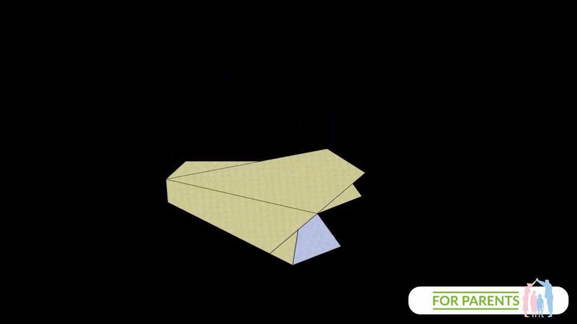 Jak zrobić samolot z papieru? Trout – Pstrąg