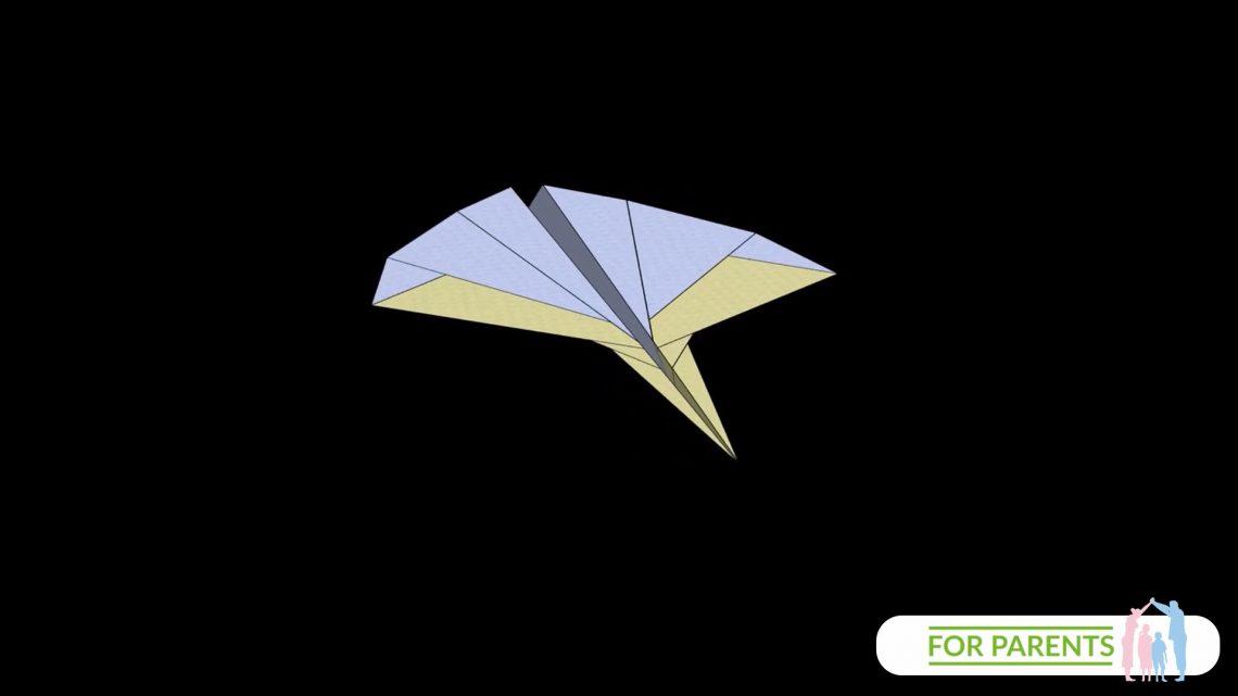 Jak zrobić samolot z papieru? Leopard – Lampart